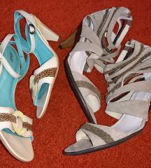 Lot novih sandala, prava koža.