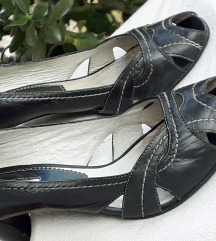 Tamnosive sandale PRAVA KOŽA