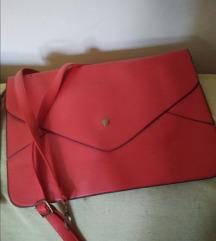 Pismo torba,crvena