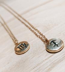 Zlatne ogrlice - Djevica i Strijelac