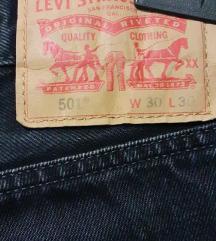 Original LEVIS muške hlače 501 W30 L30