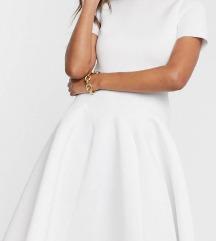 ASOS bijela midi haljina