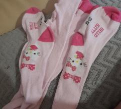 Hello Kitty štramplice 110/116
