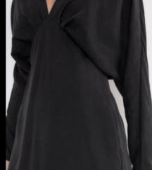 ZARA crna  haljina tunika sa etiketom