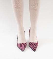 Roze zebra salonke