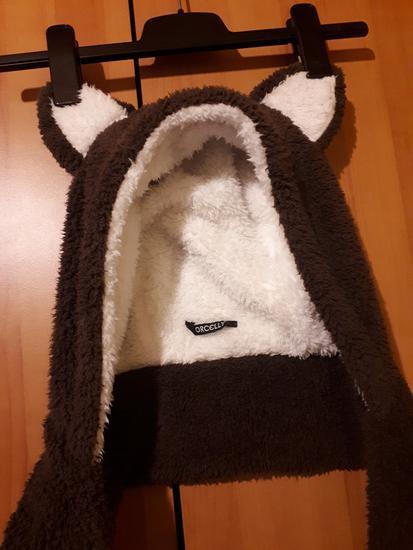 Čupavi medo - kapa/šal/rukavice
