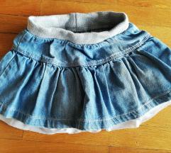 Jeans idexe suknja