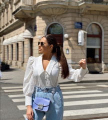 Zara paperbag hlače