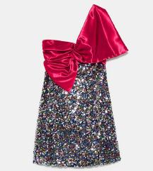 Zara sequin haljina XS / S NOVA