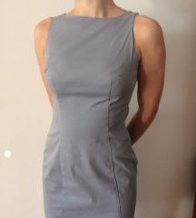 Benetton siva haljina