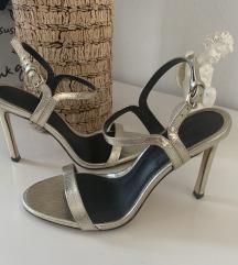 Zara Zlatne Sandale