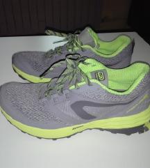 Tenisice za trčanje KIPRUN TRAIL sivo/žute!