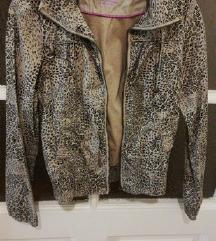 Bershka leopard jaknica