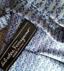 Poklon+Svilena kravata Salvatore Ferragamo