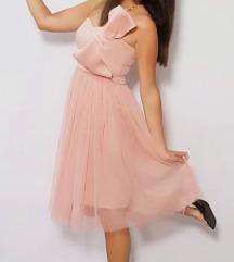 Asos svečana roza haljina