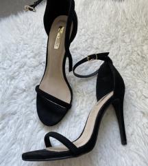 Crne sandale PRODANO