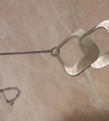 Srebrni lančić sa privjeskom