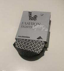calzedonia mrežaste čarape/nove