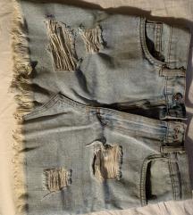 Kratka traper suknja veličina S