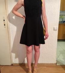 ZARA kratka crna haljina