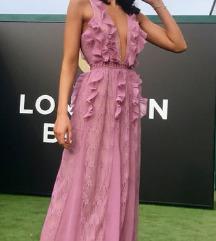True Decadence Asos maxi haljina roza S