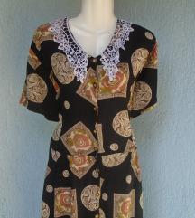 Vintage haljina sa kragnom