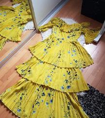Sniženoo 180 kn! 😊👗NOVA maxi haljina s volanima