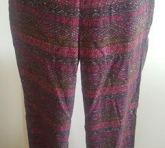 ljetne šarene hlače XS -PT UKLČJUČEN