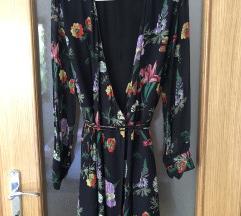 Kratka cvjetna haljina (Zara)