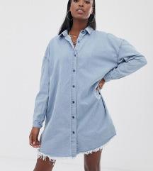 NOVA MISGUIDED traper košulja haljina