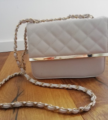 Bež mala torbica
