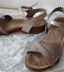 Le Veline srebrne sandale - vel. 37