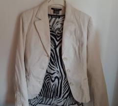 Zara basic prljavo bijeli sako