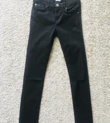 Crne skinny jeans vel 34-36 XS-S