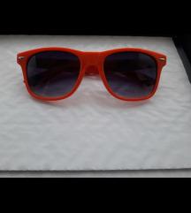 3 sunčane metalne, smeđe retro i narancaste