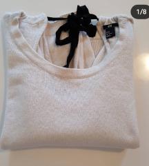 HM hit pulover bez leđa na vezanje