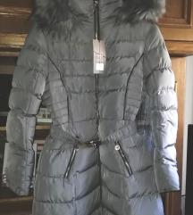 Siva/srebrna jakna vel L/XL nova s etiketom