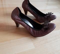 Cipele na petu 41 kožne NOVE