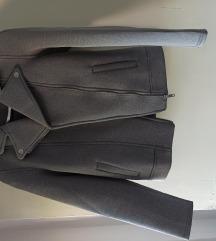 Siva jaknica kosi patent