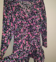Zara cvjetna haljina M