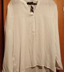 Bijela nova bluza