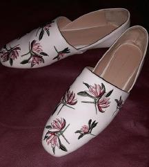 Zara floral mokasinke