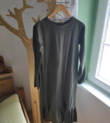 Zelana zara haljina