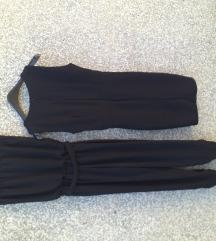Elegantan crnu kombinezon + mala crna haljinica