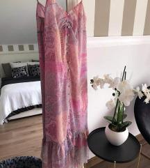 Zara haljina kašmir uzorka