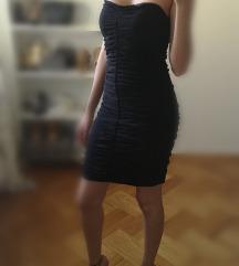 Čipkasta crna haljina pt ukljucena