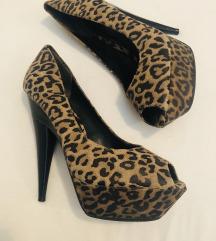 40 VIntage TOPSHOP  leopard štikle