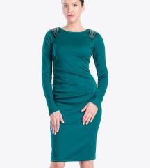 Diadema zelena haljina