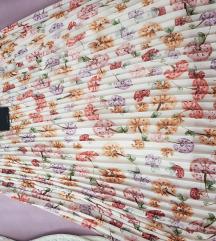 Nova plisirana cvjetna suknja