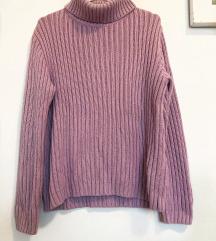 Ljubicasti pulover / vesta /  dzemper